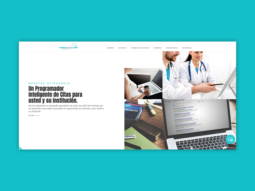 Medical Web Page - Colombia